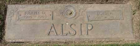 ALSIP, LOIS AILEENE - Polk County, Oregon | LOIS AILEENE ALSIP - Oregon Gravestone Photos