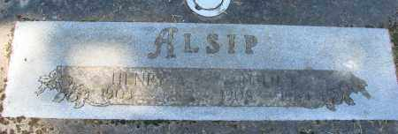 ALSIP, HENRY ALE - Polk County, Oregon | HENRY ALE ALSIP - Oregon Gravestone Photos