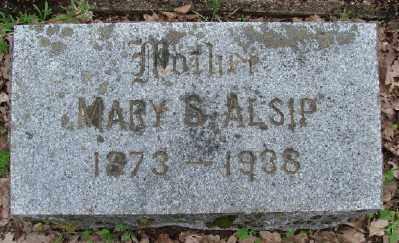 ALSIP, MARY S - Polk County, Oregon | MARY S ALSIP - Oregon Gravestone Photos