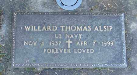 ALSIP, WILLARD THOMAS - Polk County, Oregon | WILLARD THOMAS ALSIP - Oregon Gravestone Photos