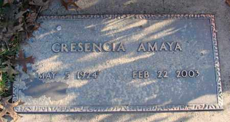 AMAYA, CRESENCIA - Polk County, Oregon   CRESENCIA AMAYA - Oregon Gravestone Photos