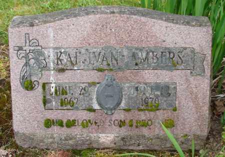 AMBERS, KAI IVAN - Polk County, Oregon | KAI IVAN AMBERS - Oregon Gravestone Photos