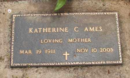 AMES, KATHERINE C - Polk County, Oregon | KATHERINE C AMES - Oregon Gravestone Photos