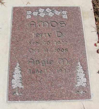 AMOS, JERRY D - Polk County, Oregon | JERRY D AMOS - Oregon Gravestone Photos
