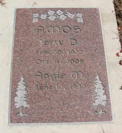 AMOS, ANGIE M - Polk County, Oregon | ANGIE M AMOS - Oregon Gravestone Photos