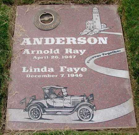 ANDERSON, LINDA FAYE - Polk County, Oregon | LINDA FAYE ANDERSON - Oregon Gravestone Photos