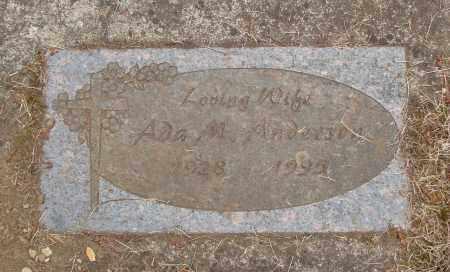 ANDERSON, ADA M - Polk County, Oregon | ADA M ANDERSON - Oregon Gravestone Photos