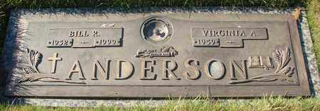ANDERSON, BILL R - Polk County, Oregon | BILL R ANDERSON - Oregon Gravestone Photos