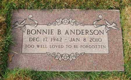 ANDERSON, BONNIE BELLE - Polk County, Oregon | BONNIE BELLE ANDERSON - Oregon Gravestone Photos
