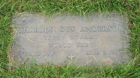ANDERSON, CHARLES GUY - Polk County, Oregon | CHARLES GUY ANDERSON - Oregon Gravestone Photos
