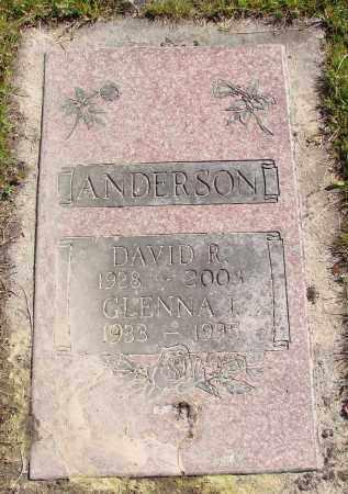 ANDERSON, GLENNA IRENE - Polk County, Oregon | GLENNA IRENE ANDERSON - Oregon Gravestone Photos