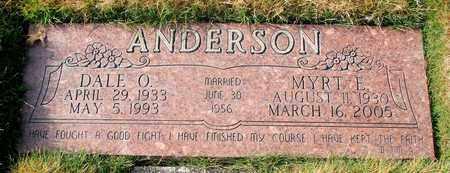 ANDERSON, DALE O - Polk County, Oregon | DALE O ANDERSON - Oregon Gravestone Photos