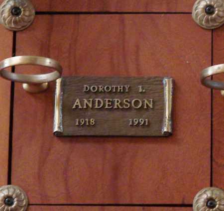 ANDERSON, DOROTHY IRENE - Polk County, Oregon | DOROTHY IRENE ANDERSON - Oregon Gravestone Photos