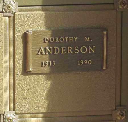 ANDERSON, DOROTHY MAE - Polk County, Oregon | DOROTHY MAE ANDERSON - Oregon Gravestone Photos