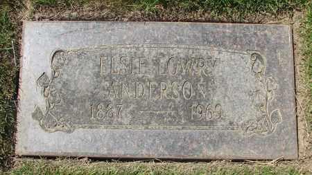 ANDERSON, ELSIE - Polk County, Oregon | ELSIE ANDERSON - Oregon Gravestone Photos