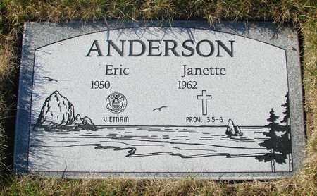 ANDERSON, JANETTE - Polk County, Oregon | JANETTE ANDERSON - Oregon Gravestone Photos