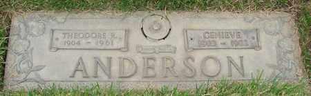 ANDERSON, GENIEVE - Polk County, Oregon   GENIEVE ANDERSON - Oregon Gravestone Photos