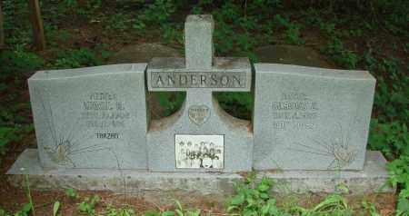 ANDERSON, VIRGIL R - Polk County, Oregon | VIRGIL R ANDERSON - Oregon Gravestone Photos