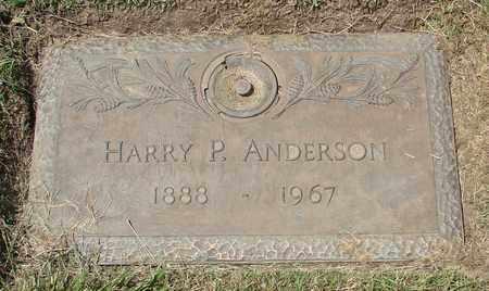 ANDERSON, HARRY P - Polk County, Oregon   HARRY P ANDERSON - Oregon Gravestone Photos