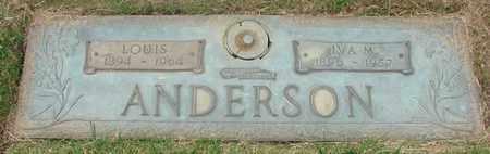ANDERSON, LOUIS - Polk County, Oregon | LOUIS ANDERSON - Oregon Gravestone Photos