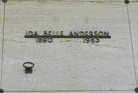 ANDERSON, IDA BELLE - Polk County, Oregon   IDA BELLE ANDERSON - Oregon Gravestone Photos