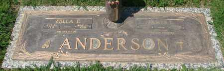 ANDERSON, JAMES L - Polk County, Oregon | JAMES L ANDERSON - Oregon Gravestone Photos