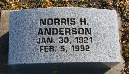 ANDERSON, NORRIS H - Polk County, Oregon | NORRIS H ANDERSON - Oregon Gravestone Photos