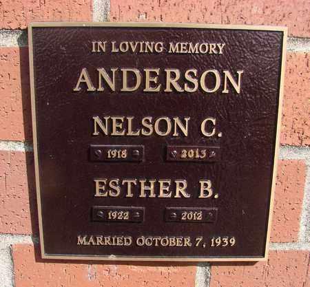 ANDERSON, ESTHER B - Polk County, Oregon | ESTHER B ANDERSON - Oregon Gravestone Photos