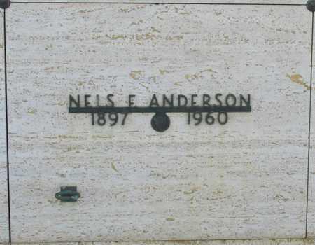 ANDERSON, NELS F - Polk County, Oregon | NELS F ANDERSON - Oregon Gravestone Photos