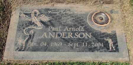 ANDERSON, PAUL ARNOLD - Polk County, Oregon | PAUL ARNOLD ANDERSON - Oregon Gravestone Photos