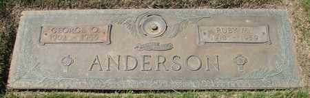ANDERSON, RUBY M - Polk County, Oregon | RUBY M ANDERSON - Oregon Gravestone Photos