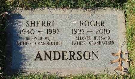 ANDERSON, ROGER WALLACE - Polk County, Oregon | ROGER WALLACE ANDERSON - Oregon Gravestone Photos