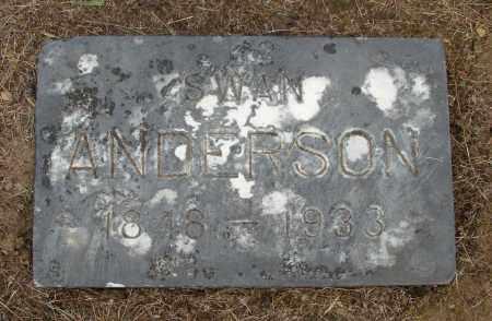 ANDERSON, SWAN - Polk County, Oregon | SWAN ANDERSON - Oregon Gravestone Photos