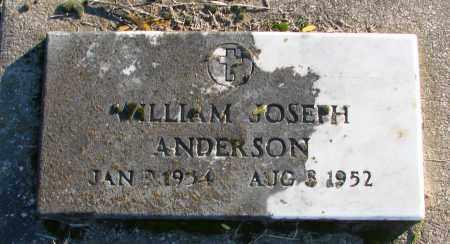 ANDERSON, WILLIAM JOSEPH - Polk County, Oregon | WILLIAM JOSEPH ANDERSON - Oregon Gravestone Photos