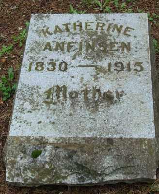 ANFINSEN, KATHERINE - Polk County, Oregon   KATHERINE ANFINSEN - Oregon Gravestone Photos