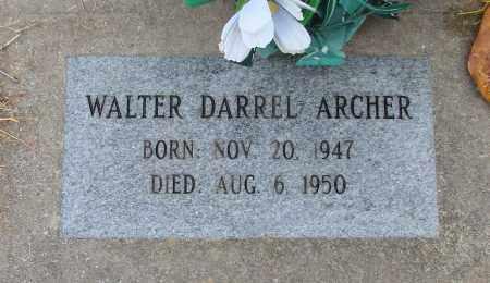 ARCHER, WALTER DARREL - Polk County, Oregon | WALTER DARREL ARCHER - Oregon Gravestone Photos