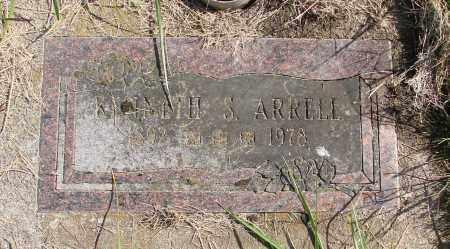 ARRELL, KENNETH SHELBY - Polk County, Oregon   KENNETH SHELBY ARRELL - Oregon Gravestone Photos