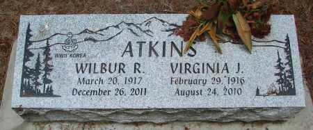 ATKINS, WILBUR RAYMOND - Polk County, Oregon | WILBUR RAYMOND ATKINS - Oregon Gravestone Photos