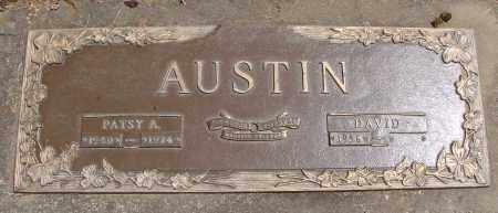 AUSTIN, PATSY ANN - Polk County, Oregon | PATSY ANN AUSTIN - Oregon Gravestone Photos