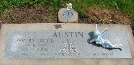 AUSTIN, SHIRLEY LOUISE - Polk County, Oregon | SHIRLEY LOUISE AUSTIN - Oregon Gravestone Photos