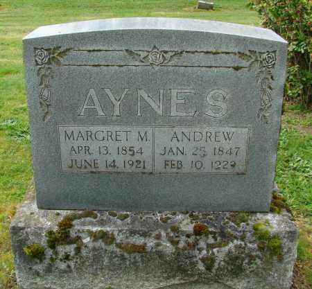 AYNES, MARGRET M - Polk County, Oregon | MARGRET M AYNES - Oregon Gravestone Photos