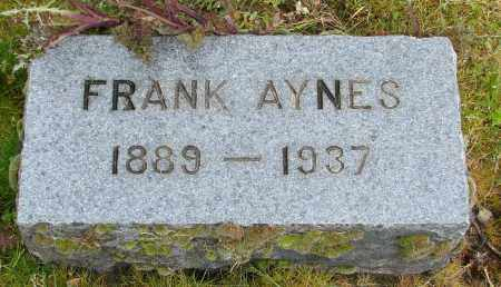 AYNES, FRANK - Polk County, Oregon | FRANK AYNES - Oregon Gravestone Photos