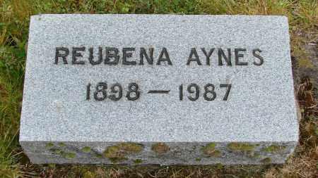 AYNES, REUBENA - Polk County, Oregon | REUBENA AYNES - Oregon Gravestone Photos