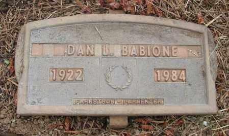 BABIONE, DANIEL LAWRENCE - Polk County, Oregon | DANIEL LAWRENCE BABIONE - Oregon Gravestone Photos
