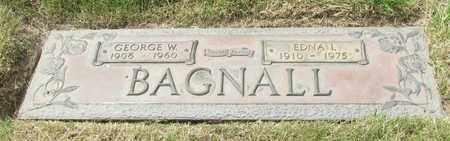 BAGNALL, GEORGE W - Polk County, Oregon | GEORGE W BAGNALL - Oregon Gravestone Photos