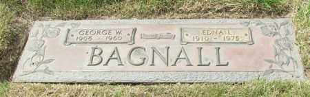 BAGNALL, EDNA I - Polk County, Oregon | EDNA I BAGNALL - Oregon Gravestone Photos