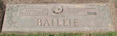 BAILLIE, DENA J - Polk County, Oregon | DENA J BAILLIE - Oregon Gravestone Photos