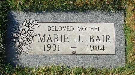 BAIR, MARIE JANE - Polk County, Oregon | MARIE JANE BAIR - Oregon Gravestone Photos