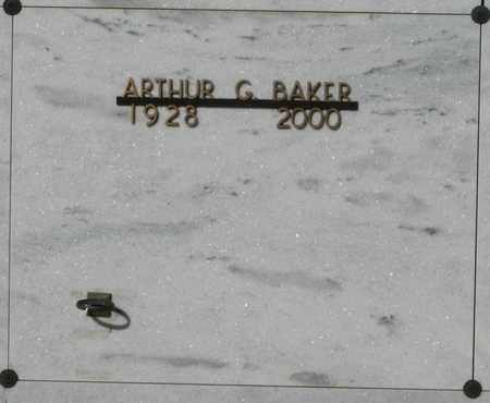 BAKER, ARTHUR G - Polk County, Oregon | ARTHUR G BAKER - Oregon Gravestone Photos