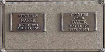 BAKER, CHRISTINE CAROL - Polk County, Oregon | CHRISTINE CAROL BAKER - Oregon Gravestone Photos